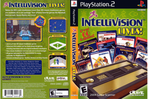 End PS2 Games Melhor Blog de PS2: Intellivision Lives! – PS2